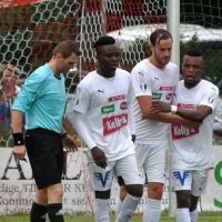 RAYMOND DARKEH PUTS FC KUFSTEIN ON TOP