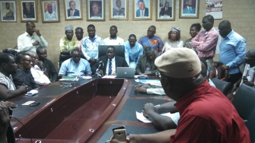 Concerned Assembly members of the AMA, addressing the press to canter the fabricated statement issued last week about an endorsement of a particular candidate