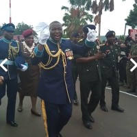 Watch video; Air Marshal Samson-Oje displays his dance prowess