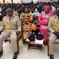 GAF officiates an induction ceremony for new CDS, Chief of the Army Staff