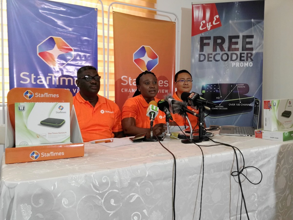 "StarTimes Launches ""ey3 free"" Promo"