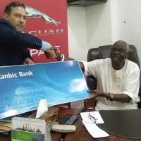 Alliance Motors donate GH¢5,000 to Osu Chief