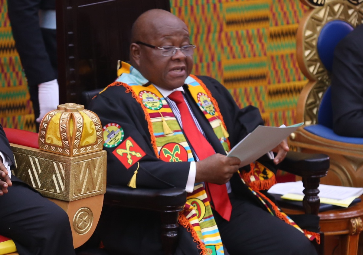 Speaker Assumes the Presidency; As Akufo-Addo Performs Extraterritorial Duties