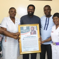 'Assisting in the delivery of 2 Siblings' earned My Respect for Midwifery-Hon. Vanderpuije