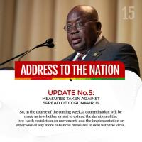 Full text of President Akufo-Addo's address to the Nation on Ghana's enhanced response to COVID-19